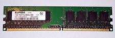 1 GB DDR2 RAM 1Rx8 PC2-6400U non-ECC  'Elpida EBE10UE8ACWA-8G-E'
