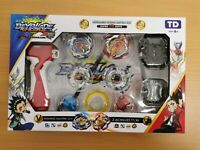 Beyblade CHO-Z BATTLE SET2  Burst Starter with Launcher Winning Valkyrie VS Z Ac