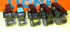 5 diff. Lionel Scout motors, postwar items, for parts or repair, NR