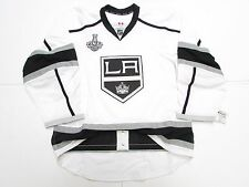 LOS ANGELES KINGS AWAY TEAM ISSUED 2014 STANLEY CUP REEBOK EDGE 2.0 JERSEY SZ 54