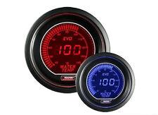 Calibrador de presión Herramienta PROSPORT 52mm Temperatura Agua 40-140°C Rojo/
