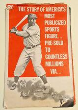 Original 1950-THE JACKIE ROBINSON STORY-PRESSBOOK, Brooklyn Dodgers, Eagle Lion