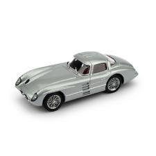 MERCEDES 300 SLR COUPE' 1955 ARGENTO 1:43 Brumm Auto Stradali Die Cast
