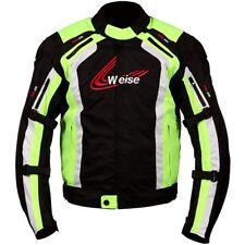 Weise Corsa Waterproof Motorcycle Jacket Yellow Winter Touring Motorbike