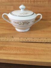 International Silver Co. China Sugar Bowl & Lid Pattern #326 Springtime