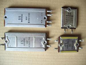 4 x Röhrenradio Selen Gleichrichter ,geprüft.