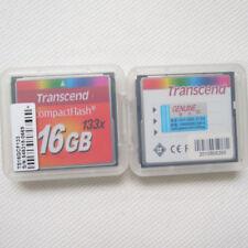 Transcend Compact Flash 16GB 133x Memory for Sony ALPHA A200 A350 / Nikon D1 D1H