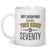 70th Birthday Gift Present Idea For Men Women Ladies Dad Mum Happy 70 Mug