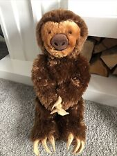 More details for build a bear factory rare & htf adorable sloth  paws stick together soft toy ❤️