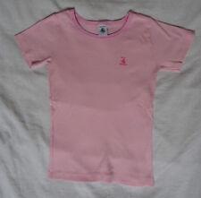 T-shirt rose pour filles, Petit Bateau, 8 ans (126 cm)