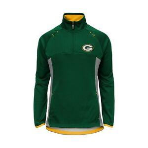 Green Bay Packers YOUTH GIRLS 1/4 Zip Up Jacket Pullover Top