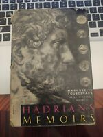 Hadrian's Memoirs by Marguerite Yourcenar - 1st EDITION/5th PRINTING w/DJ - NICE
