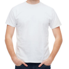 Men's Plain T shirt 100% Cotton Short  Sleeves ||🔥🔥HOT SALE'🔥🔥