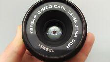 > Carl Zeiss Jena Tessar f2,8 50mm M42 + Lens Fit NIKON DSLR SLR Cameras PERFECT