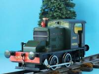 IXION O GAUGE IOD-GWR FOWLER GWR NO1 GREEN 0-4-0 DIESEL LOCO DCC + SOUND READY