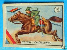 figurines cards cromos figurine v.a.v. vav 57 la guerra nostra belgio cavalleria