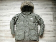 The North Face Mcmurdo Men's Down Parka Jacket XL RRP£399 Army Green Colour Coat