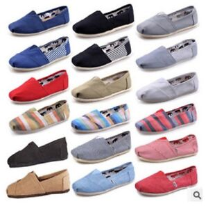 2019 NEW Women Classics TOM Loafers Canvas Slip-On Flats shoes Lazy shoes
