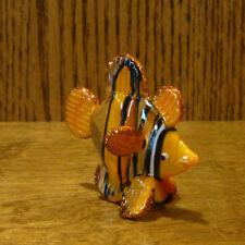 "Jaco Blown Glass Figurine #10130 CLOWN FISH, From Retail Store, 2.5"" x 2.75"""