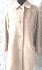 Larry Levine Camel Hair Vintage Coat Italy 6 Size Women