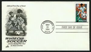 #2834 29c World Cup 94, Art Craft FDC ANY 5=