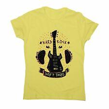 Rock 'n roll music tacos women's t-shirt