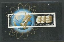 HUNGARY 1962 IMPERF GAGARIN SPACE MINISHEET MNH NICE! BIN£11.00