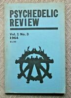 The Psychedelic Review Issue Number 3 ~ 1964 Volume 1 ~ Aldous Huxley Issue