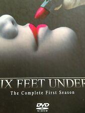 Six Feet Under - The Complete First Season (DVD, 2003, 4-Disc Set)