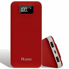 External Battery Pack, 20000mAh Phone Charger LED Digital Display Power Bank
