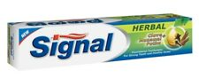 Signal Herbal Tooth Paste Tooth Whitening Total Clean Herbal Toothpaste