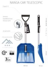 NANGA CAR Telescopic Snow Shovel Extendable Handle Aluminium Plastic Scoop TOP