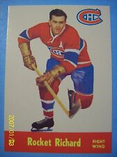 "1993-94 Reprint # DPR-5 of a Parkhurst 1955-56 # 37 Maurice ""Rocket"" Richard!"