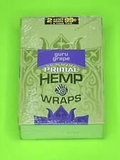 FREE GIFTS🎁IF U BUY Guru Grape🍇Primal Natural  50 High Quality Hemp Wraps+Tips