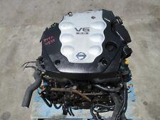 JDM Nissan 350Z Engine VQ35DE Infiniti G35 3.5L V6 Motor VQ35 Automatic Tranny