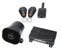 VIPER 3105V 350 PLUS 3 CHANNEL 1 WAY KEY LESS ENTRY SECURITY SYSTEM CAR ALARM