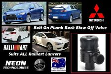 Mitsubishi Ralliart Lancer BOLT ON Plumb Back Blow Off Valve *34mm BOV*