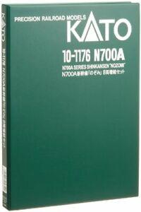 Kato 10-1176 JR Series N700A Shinkansen 'Nozomi' 8 Cars Add-on Set (N scale)