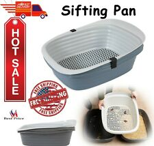 Pet Mate Arm & Hammer Large Sifting Litter Box Pan For Pets Cats Clean Up Easy