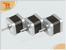 3PCS Nema17 0.9degree 2.4A 4800g.cm(60oz-in) 48mm 3D Printer Reprap Robot CNC
