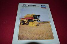 New Holland TR 86 TR 96 Combine Dealer's Brochure HVPA