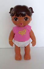 """2012 Viacom Mattel 12"""" Talking Vinyl Doll Dora Explorer Video"""