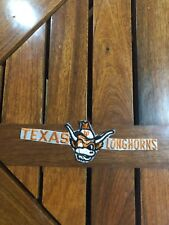 """TEXAS LONGHORNS IRON ON PATCH 6 3/4"""""""