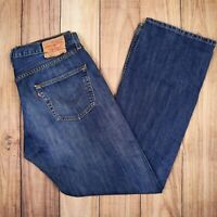 Vintage Levis 501 Jeans Straight Leg Button Blue W36 L32