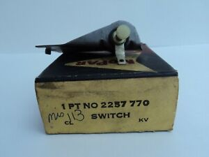 1961 Chrysler, Dodge, Desoto, Plymouth, Imperial, Mechanical stop lamp switch fo