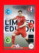 EURO FRANCE 2016 - Adrenalyn Panini - Card Limited Edition - SHAQIRI SWITZERLAND