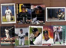Frank Thomas 9 card lot.