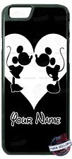 Disney Minnie Mouse Minnie B&W Phone Case Cover For iPhone Samsung HTC LG Name
