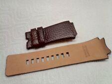 DIESEL Watch Strap DZ1111 OEM genuine brown leather band DZ1222 DZ1145 NOS NEW