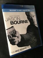 Brand New Sealed! Jason Bourne [New Blu-ray] With DVD, UV/HD Digital